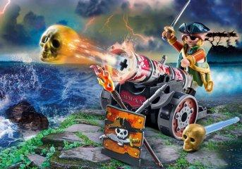 Kalóz ágyúval, Playmobil szerepjáték (70415, 4-10 év)