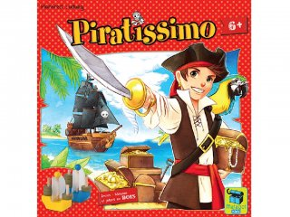 Kalózkincs (Piratissimo, taktikai társasjáték, 6-12 év)