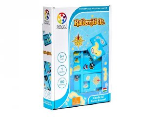 Kalózrejtő Jr., Hide & Seek Pirates (Smart Games, egyszemélyes logikai játék, 4-8 év)