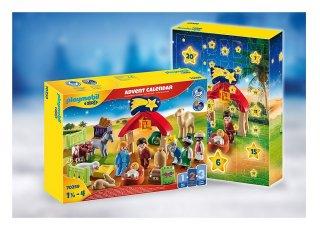 Karácsonyi jászol, Playmobil 1-2-3 Adventi naptár