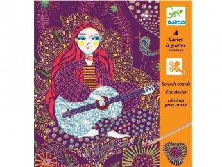 Karckép készítő, Napsugár (Djeco, 9724, kreatív készlet, 7-13 év)