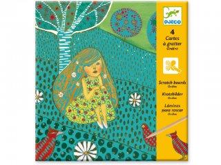 Karckép készítő, Sellők (Djeco, 9722, kreatív készlet, 7-13 év)