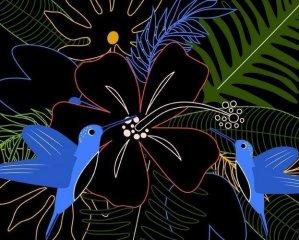 Karckép készítő Virágok, kreatív készlet (AU, 5-12 év)