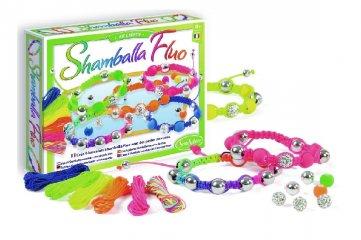 Karkötőkészítő készlet fluoreszkáló színekkel (Sentosphere, kreatív készlet, 7-14 év)