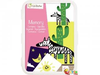 Kártyajáték, Ellentétek (AM, memóriajáték, 4-7 év)