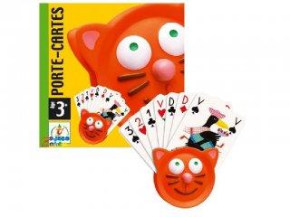 Kártyatartó (Djeco, 5997, kártyafogó gyerekeknek, 3-6 év)