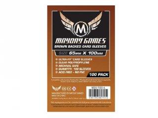 Kártyavédő kártyajátékokhoz, 65x100 mm (100 db-os, pl.