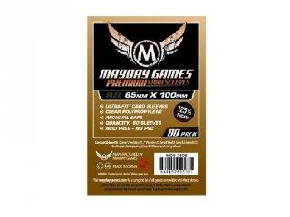 Kártyavédő kártyajátékokhoz, prémium, 65x100 mm (80 db-os, pl.