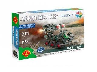 Kasirga rakétavető fém építőjáték, 271 db-os tudományos építőkészlet (8-14 év)