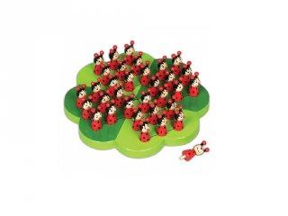 Katicás szoliter (FP, egyszemélyes fa logikai játék, 5-14 év)