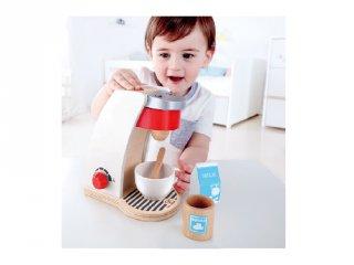 Kávéfőző (Hape, 3146, fa konyhai játék, 3-10 év)