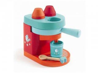 Kávéfőzőgép (Djeco, 6634, konyhai fajáték, 3-8 év)