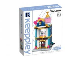 Keepley Luxus Ékszer Ház, Lego kompatibilis építőjáték készlet (QMAN, CO110, 6-12 év)