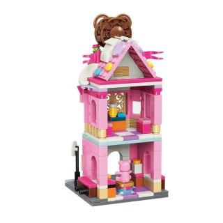 Keepley Maci Ház, Lego kompatibilis építőjáték készlet (QMAN, CO109, 6-12 év)