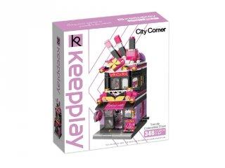 Keepley Szépség Ház, Lego kompatibilis építőjáték készlet (QMAN, CO103, 6-12 év)