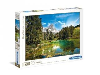 Kék tó puzzle, 1500 db-os kirakó (CLEM, 9-99 év)
