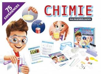 Kémiai laboratórium, tudományos játék 75 kísérlettel (Buki, 8-14 év)