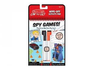 Kémjátszma letörölhető lapokkal, Melissa&Doug nyomozós játék (6-10 év)