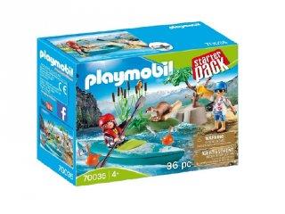 Kenu edzés, Playmobil szerepjáték (70035, 4-10 év)