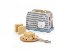 Kenyérpirító, fa konyhai szerepjáték (FK, 3-7 év)