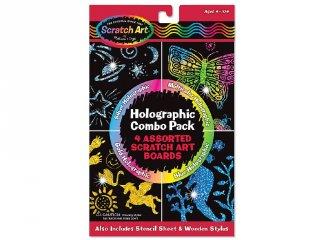 Képkarcoló, Hologramos (Melissa&Doug, kreatív készlet, 5-12 év)