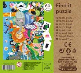 Képkereső kirakó Tavasz, 60 db-os puzzle (CLEM, 4-7 év)