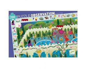 Képkereső puzzle, 1001 éjszaka meséi (Djeco, 7456, 200 db-os kirakó, 6-14 év)