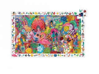 Képkereső puzzle Riói karnevál, Djeco 200 db-os kirakó - 7452 (6-14 év)