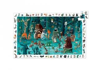 Képkereső puzzle, Zenekar (Djeco, 7588, 35 db-os kirakó, 3-7 év)
