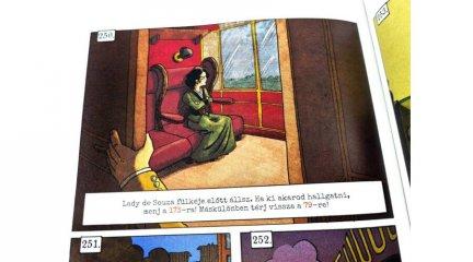 Képregényes kalandok: Sherlock & Moriarty Társak, logikai játék (14-99 év)