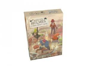 Képregényes kalandok: Sherlock Holmes A Baker street-i banda, kooperációs játék (8-99 év)