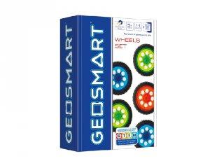 Kerék szett, GeoSmart mágneses építőjáték (5-12 év)