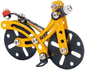 Kerékpár fém építőjáték, 57 db-os tudományos építőkészlet (8-14 év)