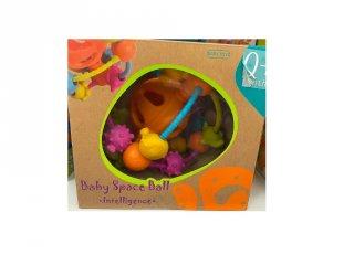 Készségfejlesztő labda, bébijáték 19 cm (0-2 év)