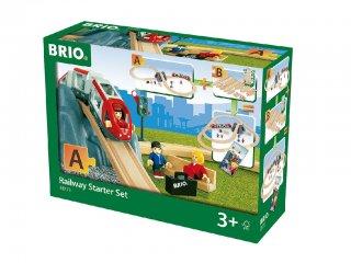 Kezdő vonat szett (Brio, 33773, vonatos fajáték, 3-10 év)