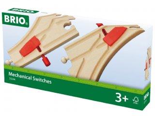 Kézi váltó 2 db (Brio, 33344, vonatos fajáték, 3-10 év)