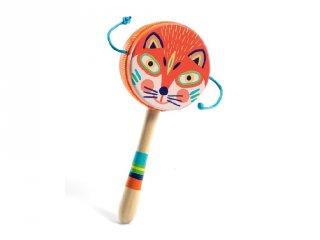 Kézidob, Djeco fa játékhangszer - 6025 (3-7 év)