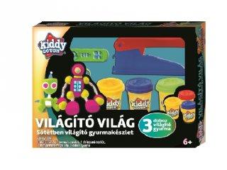 Kiddy Dough gyurmagyár, Creative Kids sötétben világító kreatív készlet
