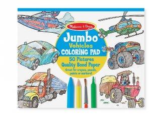 Kifestő könyv, Nagyméretű, Járművek (MD, 4205, 50 oldalas színező füzet, 3-6 év)