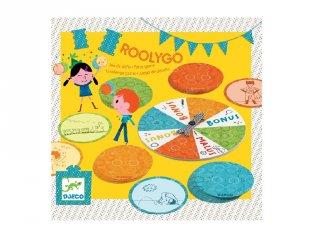 Kihívás - Roolygo, Djeco partyjáték gyerekeknek - 2094 (5-8 év)