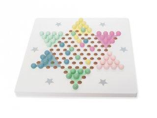 Kínai sakk fából, stratégiai táblás játék (Jabadabado, 3-10 év)