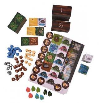 Kingdomino Kezdetek, taktikai, családi társasjáték (8-99 év)