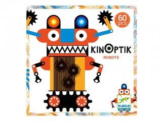 Kinoptik, Robotok (Djeco, 5611, 3D-s optikai puzzle, 6-10 év)
