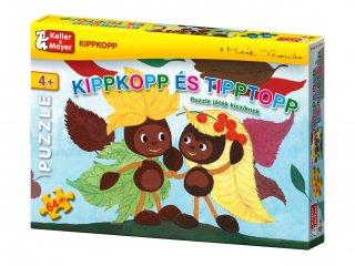 Kippkopp és Tipptopp (Keller & Mayer, 64 db-os puzzle, 4-8 év)