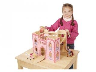 Királylány kastély, kinyitható Melissa&Doug fa épület szerepjátékhoz (3708, 3-7 év)