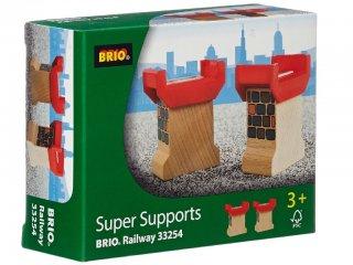 Kis támaszték 2 db (Brio, 33254, vonatos fajáték, 3-10 év)
