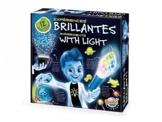 Kísérletek a fénnyel (Buki, tudományos játék, 8-99 év)