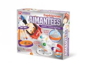 Kísérletek a mágnessel (Buki, tudományos játék, 8-99 év)