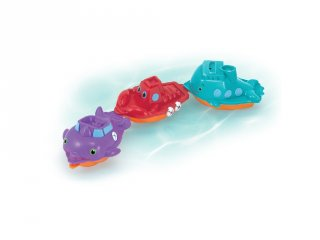 Kishajók Melissa&Doug 3 db-os fürdőjáték (6674)