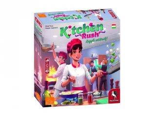 Kitchen Rush, kooperatív családi társasjáték (8-99 év)